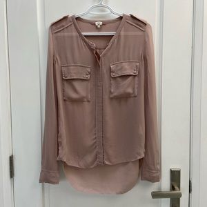 Wilfred sheer blouse size xs
